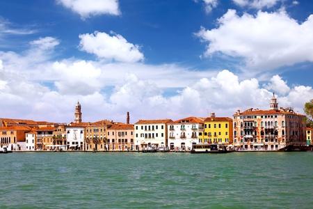 Seaview of Venice, Italy . Panorama view Stock Photo - 10194604