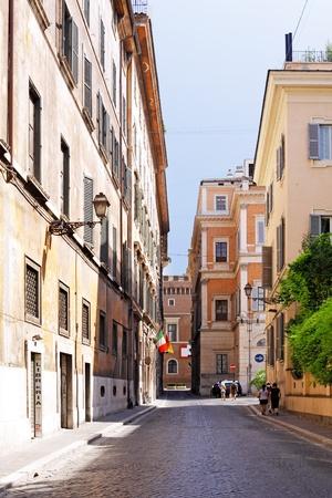 "rome italie: Paysage urbain de Rome - ""Ville �ternelle"", en Italie, � Rome."