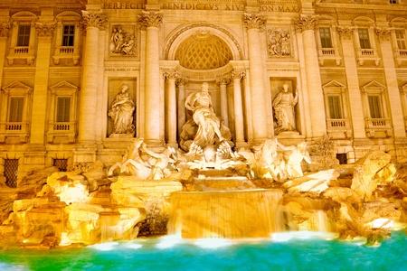 Fountain di Trevi - most famous Rome photo