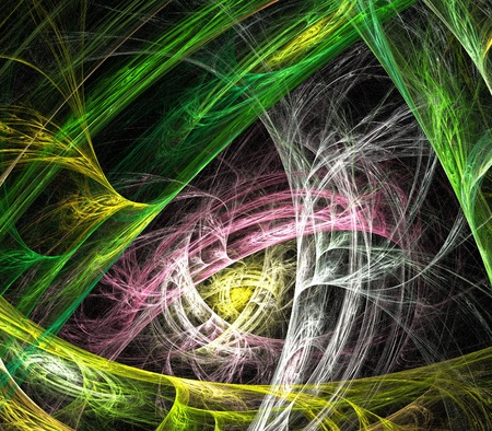 interweaving: Abstract colour art  backdrop (wallpaper) background.