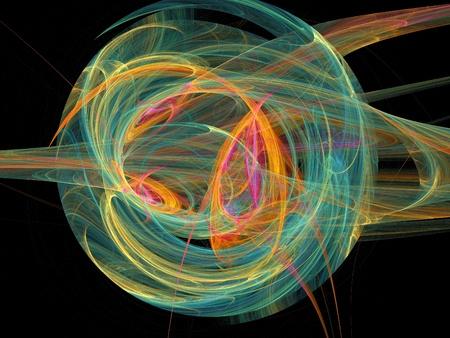 disorderly: Colour abstract art balls  , backdrop (wallpaper)background. Stock Photo