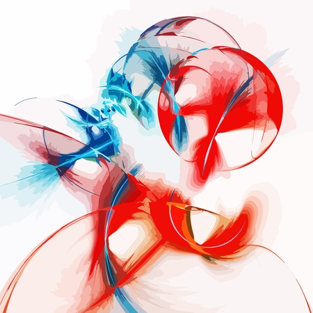 blue flame: Abstract art colour backdrop (wallpaper)background.