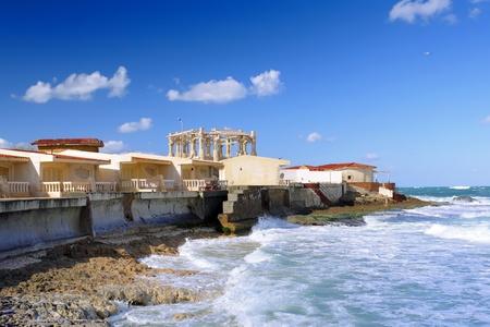 alexandria egypt: Alexandria, seafront. view  Egypt, Africa Stock Photo