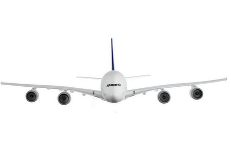avia: Modern airplane isolated on white background.