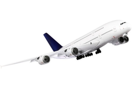 Modern airplane isolated on white background. Stock Photo - 11544181
