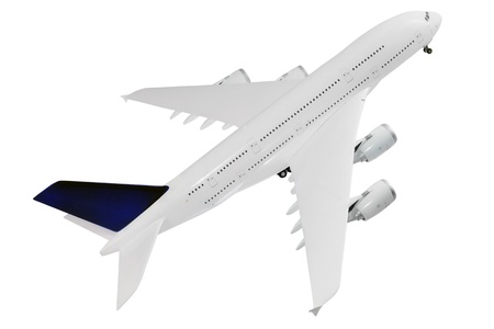 Modern airplane isolated on white background. Stock Photo - 11766066