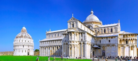 Famous Piazza Dei Miracoli Square of Miracles in Pisa, Italy Stock Photo - 11780378