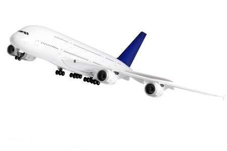 Modern airplane isolated on white background. Stock Photo - 11830208
