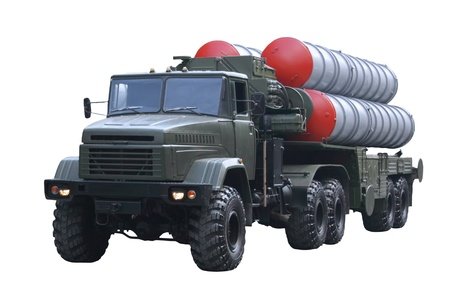 Militaru technics. Isolated over whita background. Stock Photo - 11835283