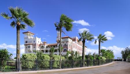 alexandria: Park in Montaza Palace in Alexandria, Egypt.