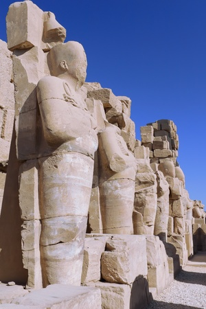 The Karnak Temple Complex, Luxor, Egypt. Ruins Stock Photo - 11923243