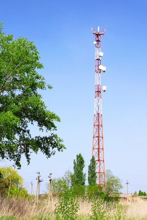 Radio Relay Link, Mobile Base Station of Mobile Operator (BTS) photo