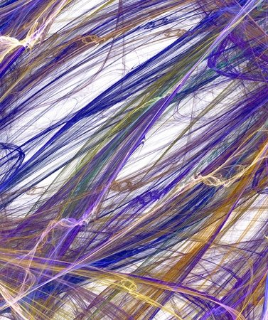 disorderly: Colour abstract art fibers , backdrop (wallpaper) background. Stock Photo