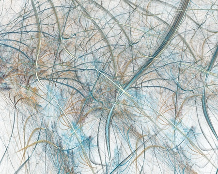 Colour abstract art fibers , backdrop (wallpaper) background. Stock Photo - 11954543