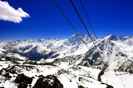 kavkaz: Beautiful view of mountains in the Elbrus area Europe