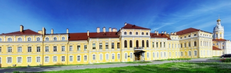Alexander Nevsky Lavra (monastery) in Saint-Petersburg, Russia photo