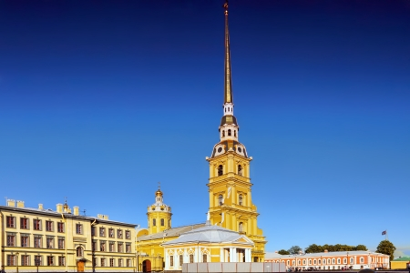 Peter and Paul Fortress. Saint-Petersburg. Russia photo