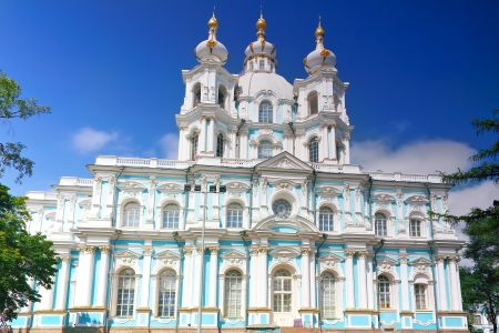 st nicholas cathedral:  St. Nicholas Naval Cathedral . St. Petersburg. Russia Stock Photo