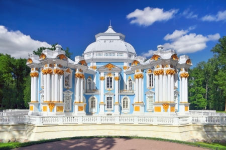 Pavilion Hermitage in Tsarskoe Selo. St. Petersburg, Russia photo