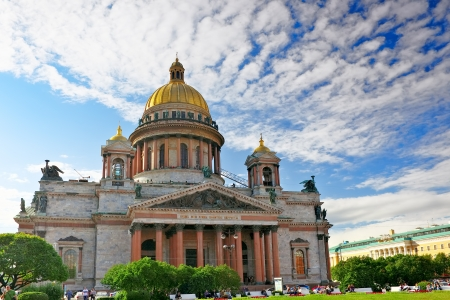 Saint Isaac's Cathedral in St Petersburg photo