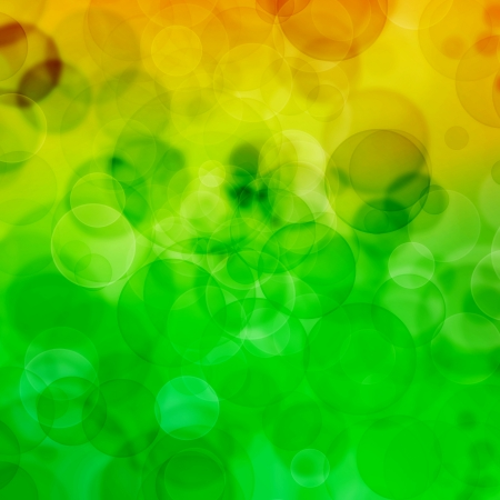 Colour background with bubbles  Stock Photo - 18936469