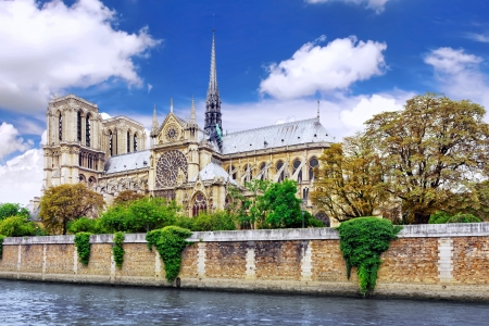 Notre Dame de Paris Cathedral Paris  France photo
