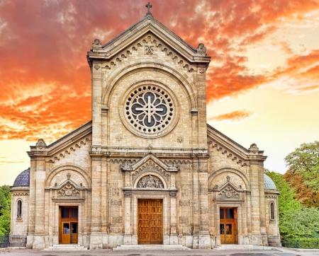 champs: Church Eglise Notre Dame Des  Champs. Paris. France