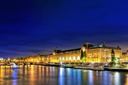Castle Conciergerie and bridge, Paris, France