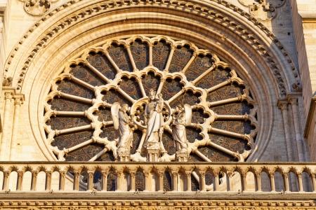 Details of Notre Dame de Paris Cathedral.France  Stock Photo - 24234057