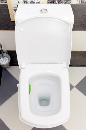 Interior of a typical water-closet photo
