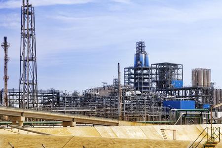 petrolium: Big oil Refinery factory. Editorial