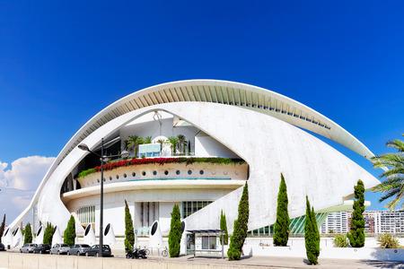 hemispheric: Palace of Arts (El Palau de les Arts Reina Sofia) - Valencia, Spain. Editorial