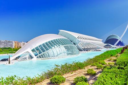hemispheric: Science Museum (El Museu de les Ciencies Principe Felipe) - City of Arts and Sciences.valencia. Spain