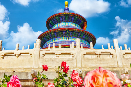 temple of heaven: Wonderful and amazing temple - Temple of Heaven in Beijing, China Stock Photo