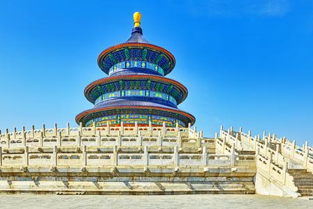cielo: Templo maravilloso y sorprendente - Templo del Cielo en Beijing, China