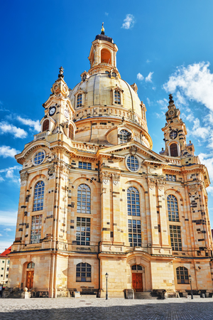 frauenkirche: Dresden Frauenkirche (Church of Our Lady) is a Lutheran church in Dresden. Saxony, Germany.