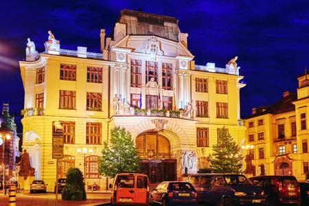quarters: Quarters and streets in Pragues Mala Strana(Lesser Town of Prague).  Czech Republic.