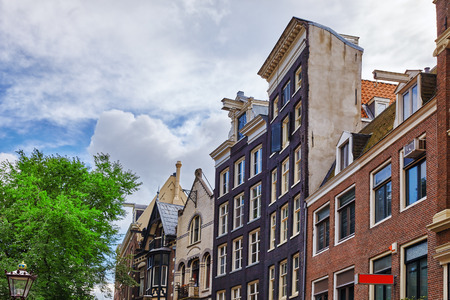 netherland: Beautiful views of the streets, ancient buildings of Amsterdam - also call Venice in the North. Netherland