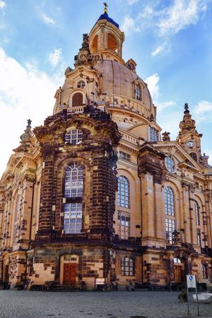 lutheran: Dresden Frauenkirche (Church of Our Lady) is a Lutheran church in Dresden. Saxony, Germany.