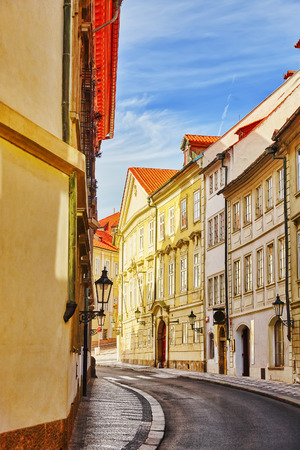 quarters: Quarters and streets on  Pragues Mala Strana(Lesser Town of Prague). District of the city of Prague, Czech Republic, and one of its most historic regions. Czech Republic.