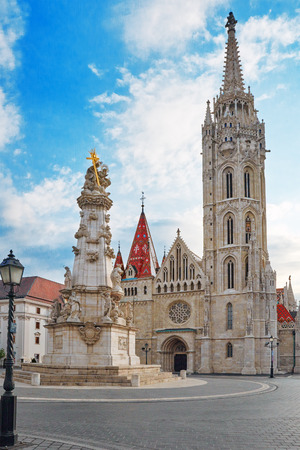 bastion: St. Matthias Church in Budapest. One of the main temple in Hungary.