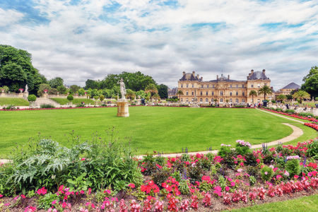 luxembourg palace and park in paris the jardin du luxembourg one of the most - Jardin Du Luxembourg Paris