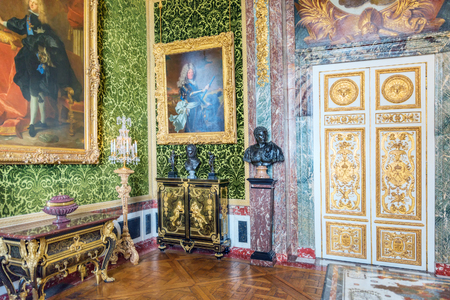 VERSAILLES, FRANCE - JULY 02, 2016 : Salon of  Abundance is on the first floor of the Chateau de Versailles.