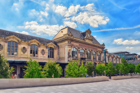 austerlitz: City views of one of the most beautiful cities in the world - Paris. Austerlitz Train Station in Paris.