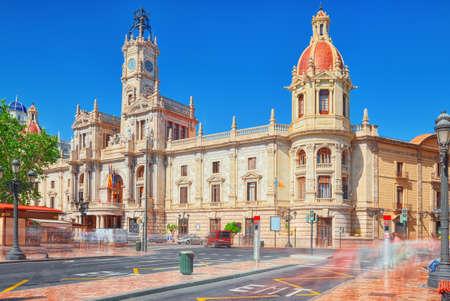 Modernism Plaza of the City Hall of Valencia, Town hall Square (Modernisme Plaza of the City Hall of Valencia Placa de l Ajuntament).