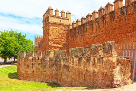 Wall of Seville (Muralla almohade de Sevilla) are a series of defensive walls surrounding the Old Town of Seville. The city has been surrounded by walls since the Roman period.