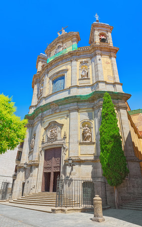 Pontifical Basilica of St. Michael  is a baroque Roman Catholic church and minor basilica in central Madrid, Spain.