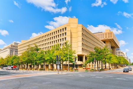 Washington, DC, USA - September 10,2017 :  Federal Bureau of Investigation Headquarters, 900 Pennsylvania Ave NW.