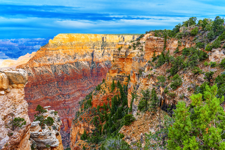 Amazing natural geological formation - Grand Canyon in Arizona, Southern Rim. USA. Stockfoto - 116147712