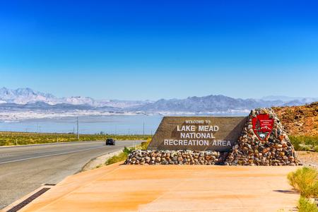 Lake Mead National Recreation Area. Nevada. USA. 版權商用圖片